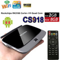 5 unids/lote rk3229 cs918 android 5.1 tv box quad core 2g 8g inteligente mini pc google iptv (MK888/K-R42) WIFI DLNA KODI Q7 Reproductor Multimedia