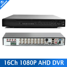 16 Channel AHD DVR 1080P DVR 16CH AHD AHD-H 1920*1080 2.0MP CCTV Video Recorder DVR NVR HVR 3 In 1 Security System