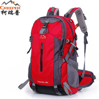 Best Deal Creeper Camping Bag Professional Waterproof Rucksack Internal Frame Climbing Camping Hiking Backpack Outdoor Bags