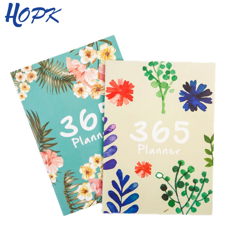 все цены на 365 Days Infinite Year Cute Flower A4 Notebook Diary Journal Weekly Monthly Planner Agenda 2019 Notebook School Office Supplies