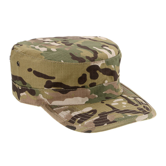 Unisex Cool Canvas Camouflage Flat-top Cap Hat Army Green Camouflage  Military Soldier Combat Hats Sport Cap Hiking Caps 5010fa87735