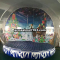4m Inflatable Christmas Bubble Snowball People Inside Inflatable Snow Globes Blow Up Ball