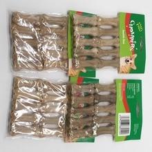 Говядина кости собаки Еда питатели Универсальный собаки молярная стержень чистить зубы собаки закуски 10 шт./упак. Размеры Еда подачи закуски для кошки, собаки