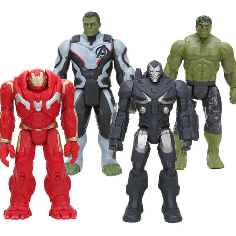 30 ซม.INFINITY WAR TITAN HERO SERIES Thanos Hulk Buster PVC Action Figures Avengers 3 รูปตุ๊กตาของเล่น