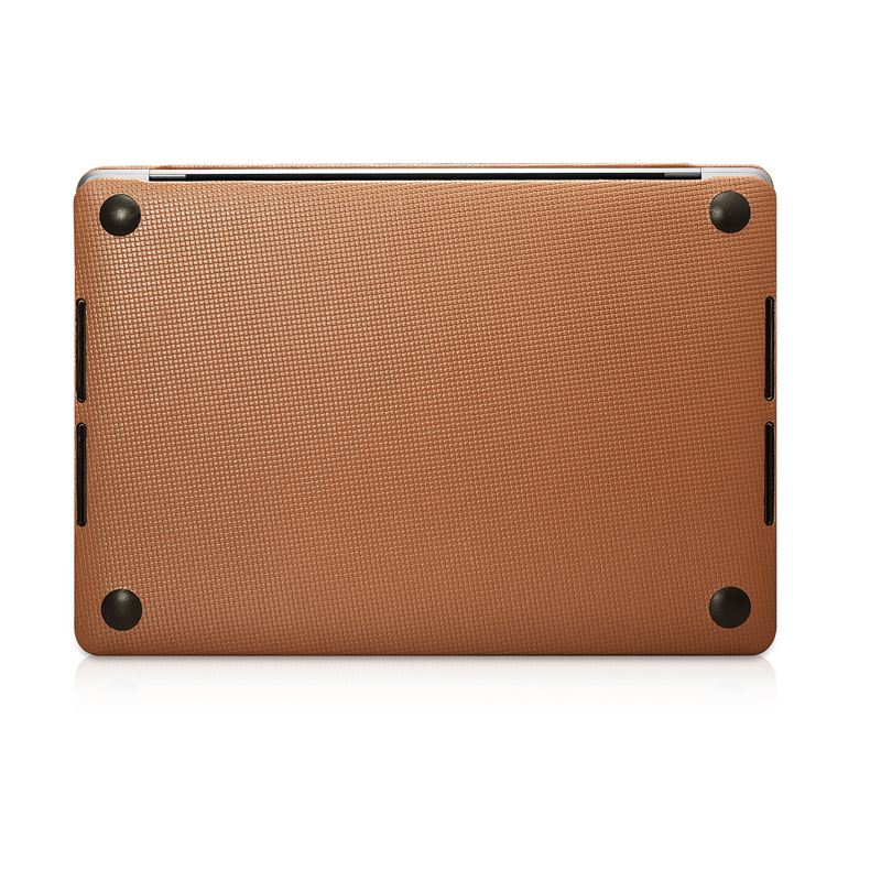 Housse pour ordinateur portable en cuir de vachette véritable pour Apple Macbook Pro 13 15 2018 2017 coque de protection pour Macbook A1706 A1708 A1989 A1707 A1990 - 5