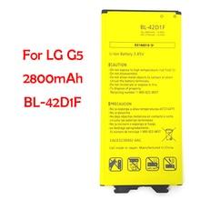 QrxPower оригинальный BL-42D1F мобильного телефона Батарея для бренда LG g5 VS987 H820 H830 LS992 2800 mAh Замена литий-ионная Батарея