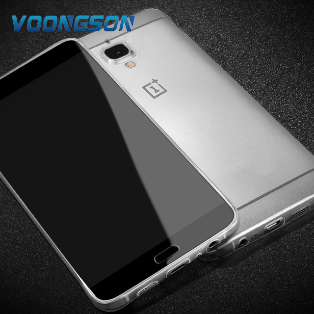 For OnePlus 3 3T case silicone for oneplus 3T cover silicone back TPU original case TPU slim 64gb a3010 soft funda clear coque