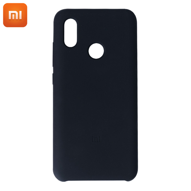 brand new 723e1 89b1c US $13.99 |100% Original Xiaomi Mi 8 Cases Silicone Protection Case Cover  For Xiaomi Mi8 High Quality-in Half-wrapped Case from Cellphones & ...