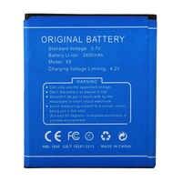 Pour DOOGEE X5 batterie 2400 mah remplacement batterie de téléphone portable pour DOOGEE X5 X5 Pro batterie de secours Rechargeable Bateria