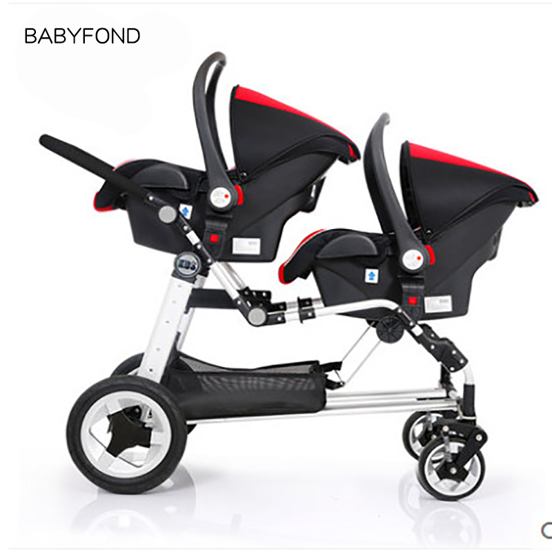 Magnificent Us 472 96 36 Off Kds Brand Baby Strollers Twins Stroller Baby Carriage Front And Rear Match Car Seat Brand Bassinet In Mutiple Stroller From Mother Machost Co Dining Chair Design Ideas Machostcouk
