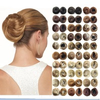 It S The Perfect Excuse To Put Chignon Bun Hairpiece In Your Hair Crochet Braids The