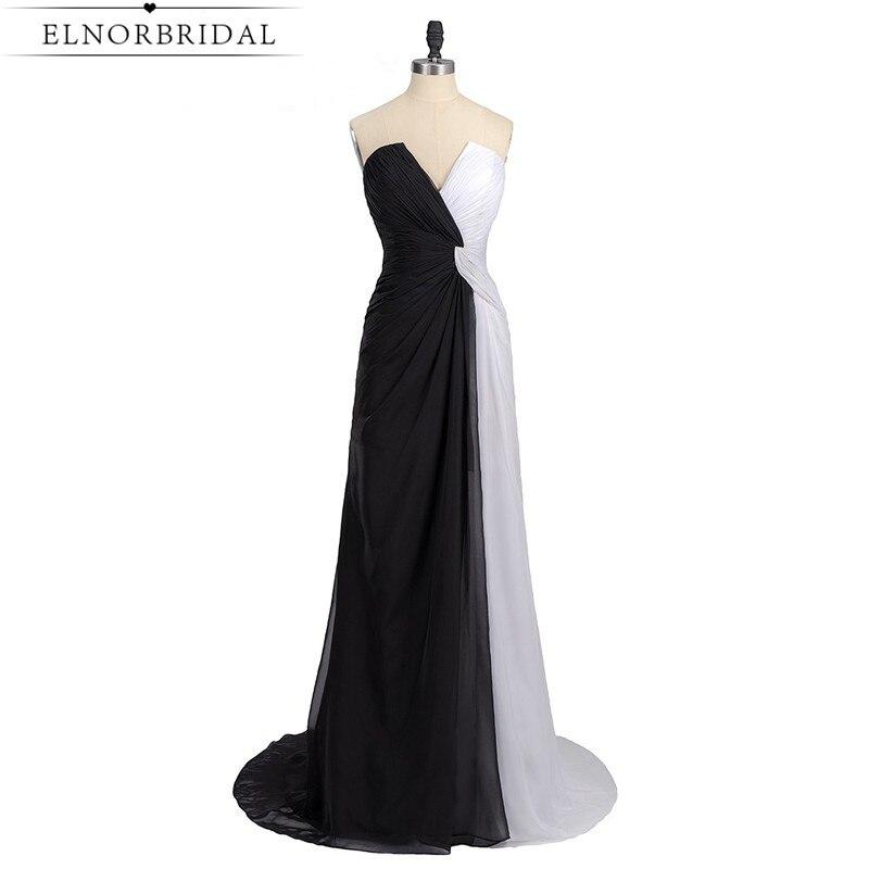 the best attitude 07997 32433 US $97.58 18% di SCONTO|In Bianco E nero Vestiti Da Sera Lungo 2019 Sexy  Robe De Soiree Convenzionale della Celebrità del Vestito Da Partito  Importato ...