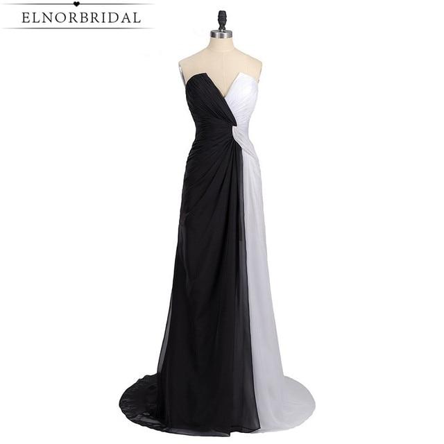 vestiti da sera bianco e nero