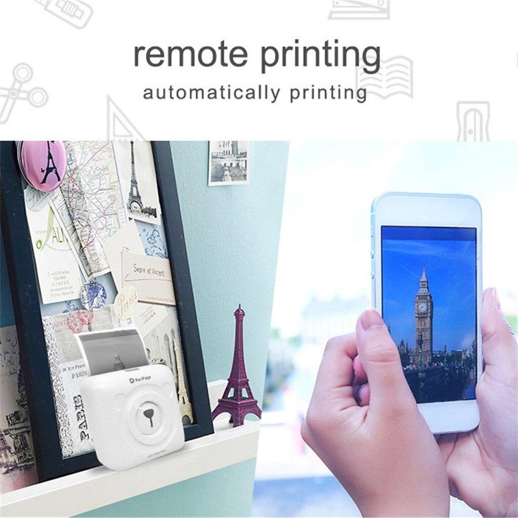 HIINST Voor Android IOS Mobiele Telefoon Thermische Draagbare Bluetooth Printer 58mm Draadloze POS Thermische Image Photo JAN15
