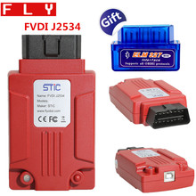 FLY FVDI J2534 Diagnostic Tool for Mazda Support SAE J1850 Module Programming with ELM327
