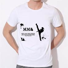 New MMA T shirt 2019 summer fashion Nate Diaz Men T-shirt Funny Brand Short O-neck Swag T Shirt 2-74#(China)