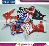 For Honda CBR 600 RR 2007 2008 Injection ABS Plastic motorcycle Fairing Kit Bodywork CBR 600RR 07 08 American Flag Design