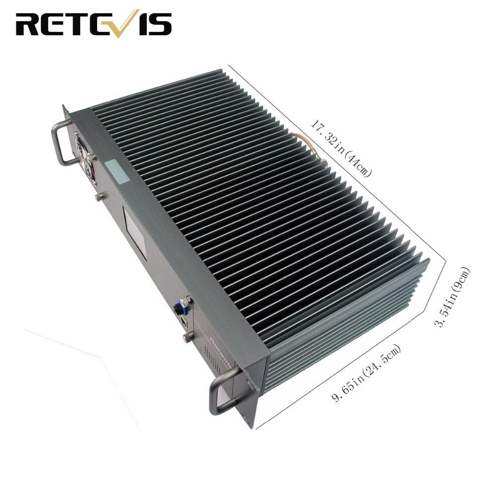 Retevis RT-9550 55W UHF DMR Repetidor Digital/Analógico Modo TDMA 2 A9116A Slots de Tempo de Rede IP
