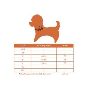 Image 5 - PipiFren 7.5 سنتيمتر كبير الكلاب الياقات الاكسسوارات حجر الراين متجر لوازم ل كبير الكلب قلادة طوق الحيوانات الأليفة كولير صب شين perro