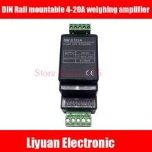 Guida DIN montabile GT01A sensore/0 5 V cella di carico amplificatore trasmettitore trasduttore RW GT01A/4 20A pesatura amplificatore