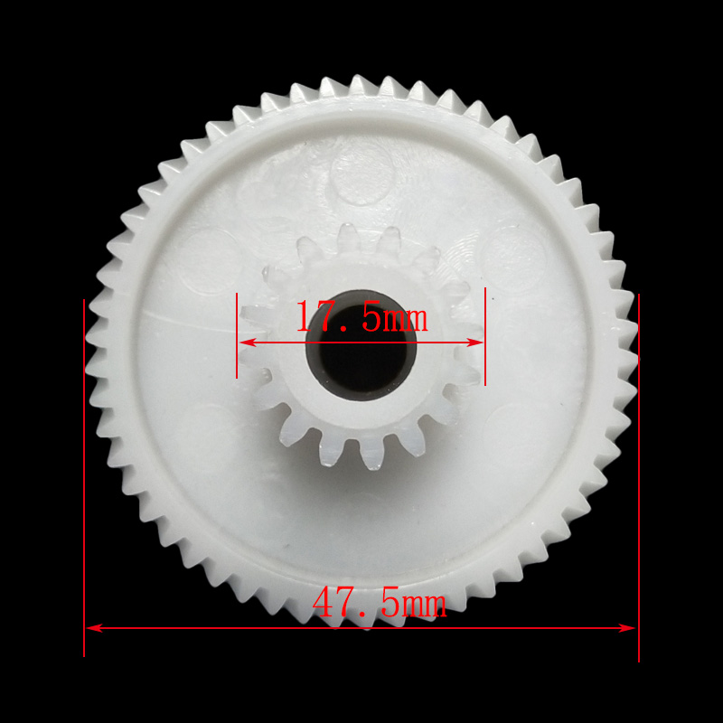 1x Plastic Gear for Elenberg MG-2501-18-3 Meat Grinder Parts Household Meat Grinder Plastic Gear Replacements1x Plastic Gear for Elenberg MG-2501-18-3 Meat Grinder Parts Household Meat Grinder Plastic Gear Replacements