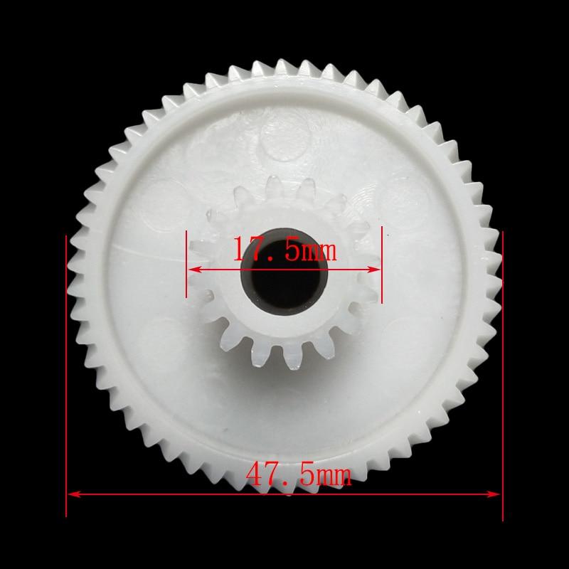 1x Plastic Gear For Elenberg MG-2501-18-3 Meat Grinder Parts Household Meat Grinder Plastic Gear Replacements