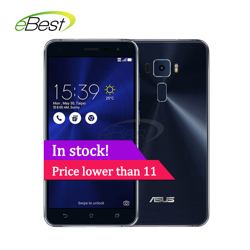"original asus Zenfone 3 Ze552kl Android Mobile Phone 5.5"" Snapdragon 625 Octa Core 4gb Ram 64g Rom 16.0mp Fingerprint Id"