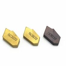 Grooving insert SP300 NC3030 NC3020 PC9030 high quality 3mm carbide metal turning tool lathe slot blade