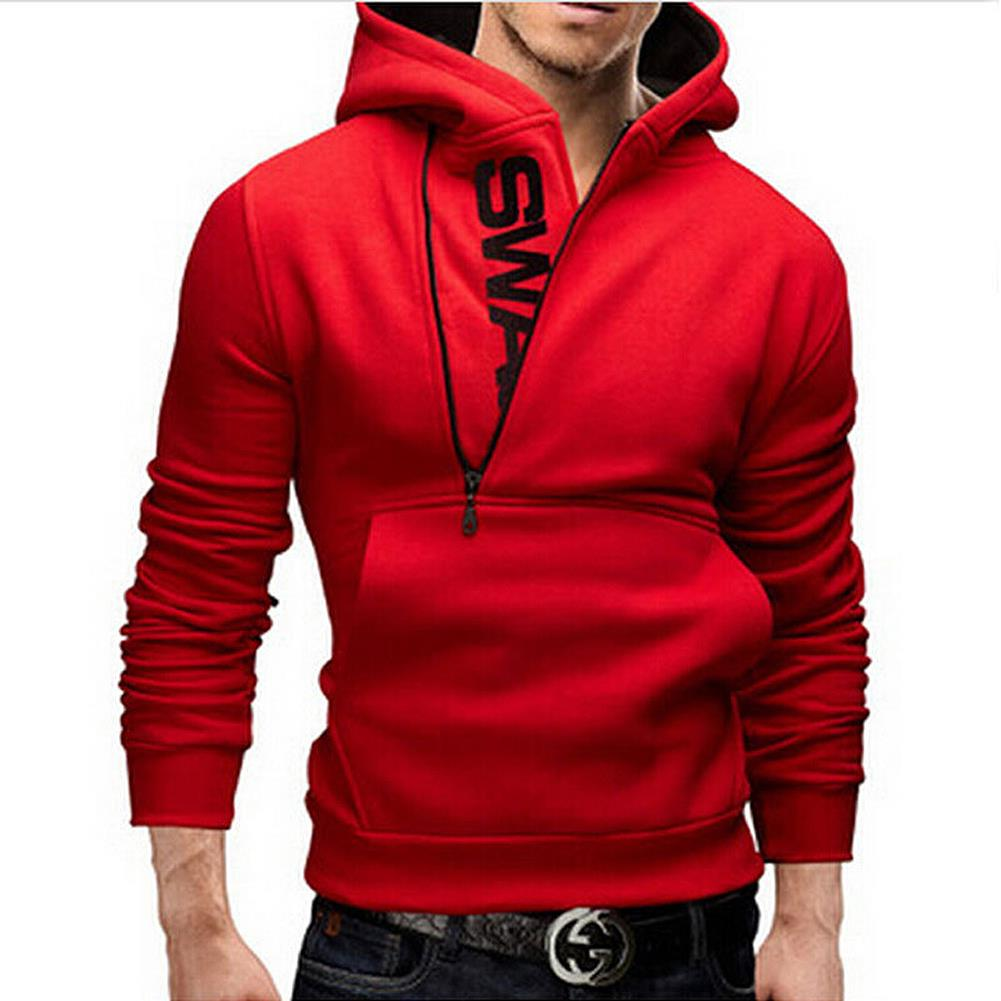 Popular Red Zipper Hoodie-Buy Cheap Red Zipper Hoodie lots from ...