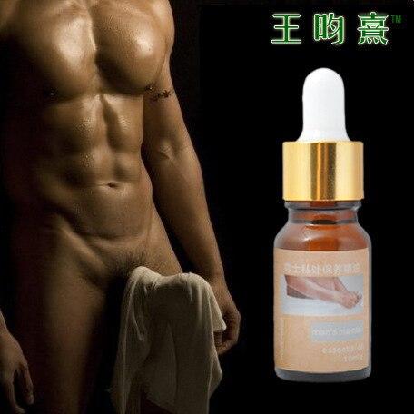 Productos del sexo del pene aceites esenciales del sexo Delay hombres de pene aceite de masaje cuidado de crecimiento de extensión Extender Enhancers 10 ml 3 p