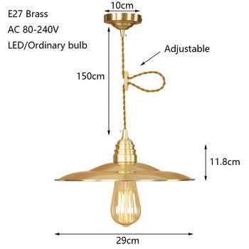 Modern Demir Boyalı Yenilik Amerikan Tarzı Kolye Lamba 220 V E27 LED Yaratıcı Asılı Aydınlatma Armatürü Yatak Odası Oturma Odası Koridor