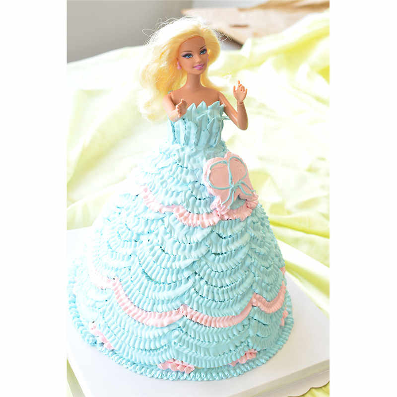 Seaan 10 Pcs/set Wedding Cake Dekorasi Icing Stainless Steel Rusia Rok Kue Nozel Piping Tips Kue Silikon Kue Tas