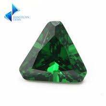 Размер 5*5 ~ 8*8 мм треугольная форма фаски Конер 5a зеленый