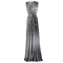 Echt Bild 2017 Phantasie Lange Glitter Prom Kleider Frauen Formale Kleid Mit Steinen Pailletten Abendkleider Nach Maß Abendkleid