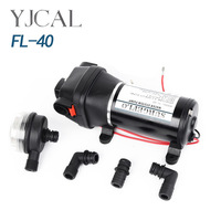 FL 40 12V24V DC Small Diaphragm Pump Vacuum Suction Flow Irrigation Automatic Drainage Pump