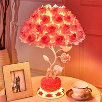 Rose Potpourri Fragrant Lamp Christmas Lights Christmas Decorations For Home Lights