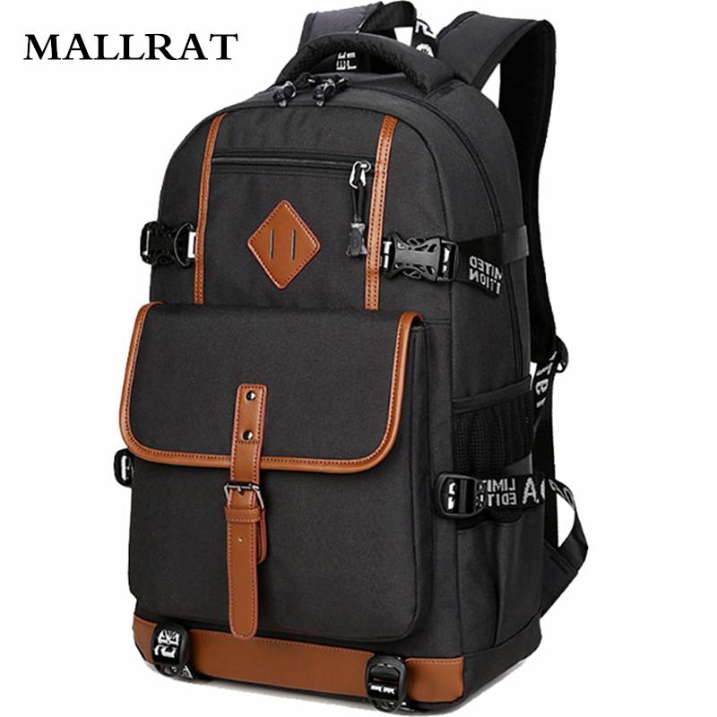 ФОТО MALLRAT 2017 Fashion Oxford Backpack Men Casual Dayback Backpack School Bag for Teenagers Computer Mochilas Daily Backpacks