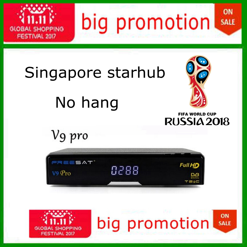Stable Singapour starhub câble boîte freesat V9 pro V9 Super
