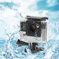 Boîtier étanche pour appareil photo boîtier de protection sous-marine boîtier de protection accessoires pour caméra GoPro Hero 3 +/4