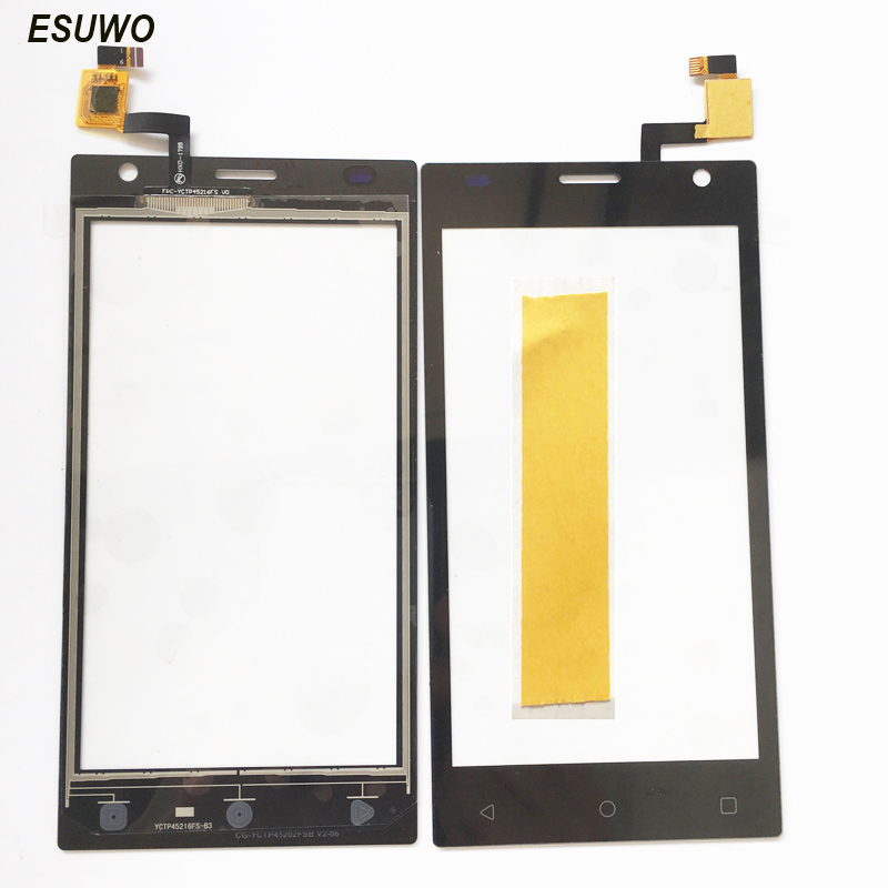 ESUWO For <font><b>Prestigio</b></font> Wize O3 PSP3458 PSP <font><b>3458</b></font> DUO Touch Screen Digitizer Touchscreen Panel Front Panel Lens image