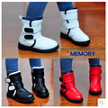 Новый 2016 детская обувь сапоги загрузки мальчики сапоги мальчиков обувь девочек Hook Loop Бесплатная Доставка Водонепроницаемый тенденции Моды 1-885
