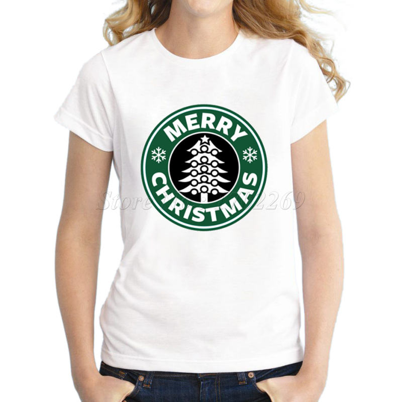 Merry Christmas Letter T.Us 7 27 48 Off Asian Size Venti Christmas Design Women Funny T Shirt Short Sleeve Casual Tee Merry Christmas Letter Printed Hipster Lady Tops In