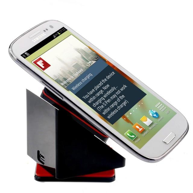 Linkdream qi cargador inalámbrico caja mágica del coche del sostenedor del soporte para smartphone moto 360 nota edge/5/4/3/2 s6/5/4/3 lg g3 nexus 5/6