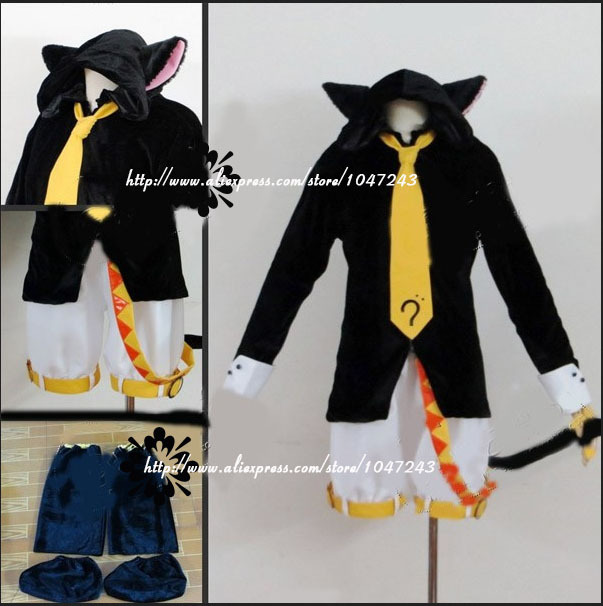 Vocaloid Len Kagamine Halloween cosplay costume-in Anime Costumes from  Novelty & Special Use on Aliexpress.com | Alibaba Group