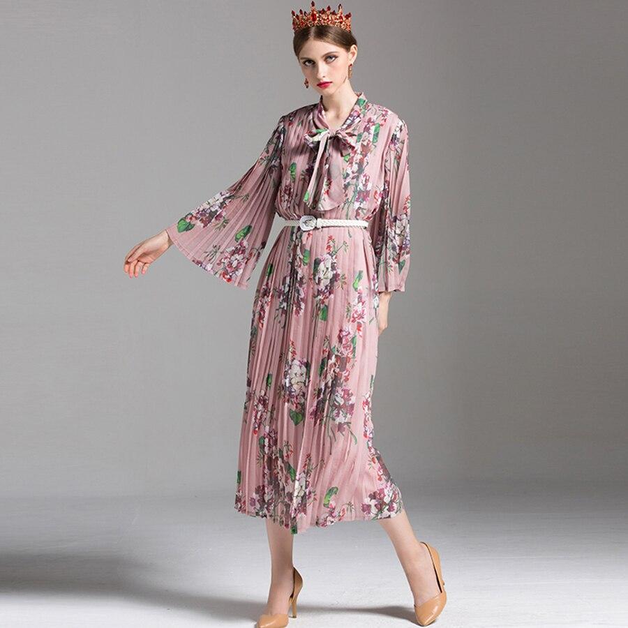 Aliexpress Com Buy Elegant Flare Sleeve Wedding Dress: Aliexpress.com : Buy Elegant Pleated Dresses New Full
