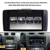 9 дюймов Автомобильный мультимедийный плеер для Mercedes Benz R Class 2003 2015 W251 R280 R300 R320 R350 с gps навигации MP5 Wi Fi (нет DVD)