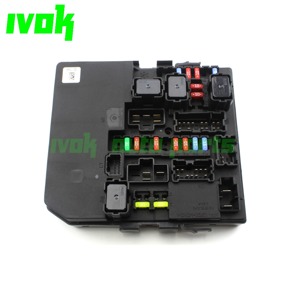 US $125 65 |IPDM Engine Room Controller Unit Fuse Relay Control Unit For  Nissan NV200 M20L 11 M20F W5D 10 13 284B7 JX30B ACM33221-in Car Switches &