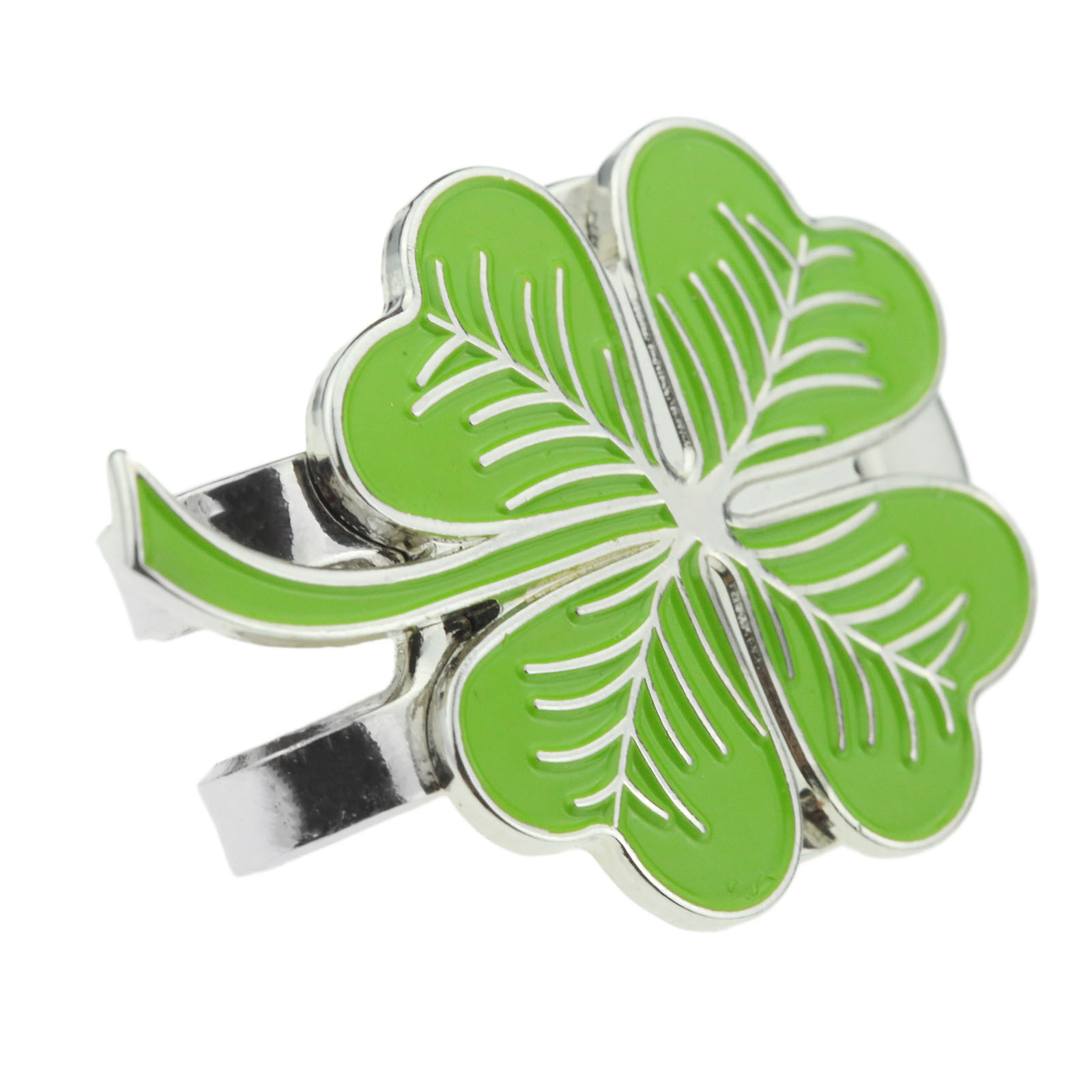 Alloy Golf Ball Mark with Hat Clips Four Leaf Clover Design Hat Clip  Magnetic Golf Ball Mark Golf Accessories Fans Supplies-in Golf Training  Aids from ... 6f9fdd025ec5