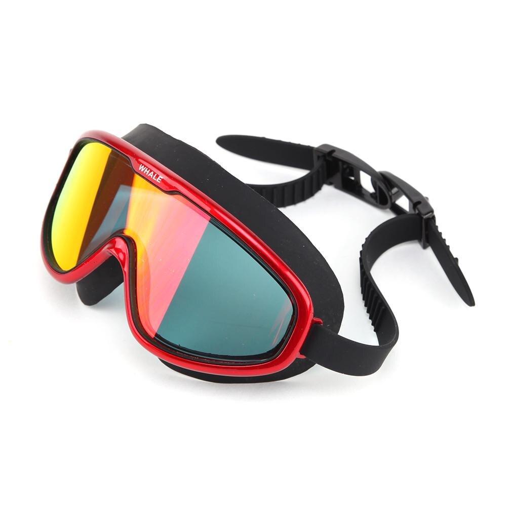 Adulto Grande Cornice Di Nuoto Fresco Occhiali Di Protezione Galvanica Hd Anti-fog Anti-uv Occhiali Da Nuoto Mm-8800 Ampia Fornitura E Consegna Rapida