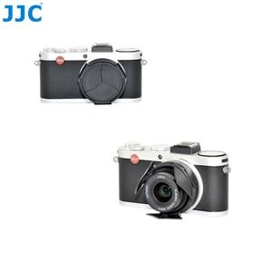 Image 2 - JJC オートレンズキャップライカ X1/X2 黒シルバー自己保持型自動オープンクローズプロテクター